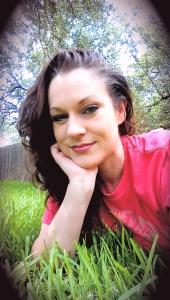 backyard selfie